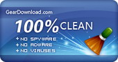 This download was tested thoroughly, was found 100% clean and rated 5 stars on GearDownload.com.